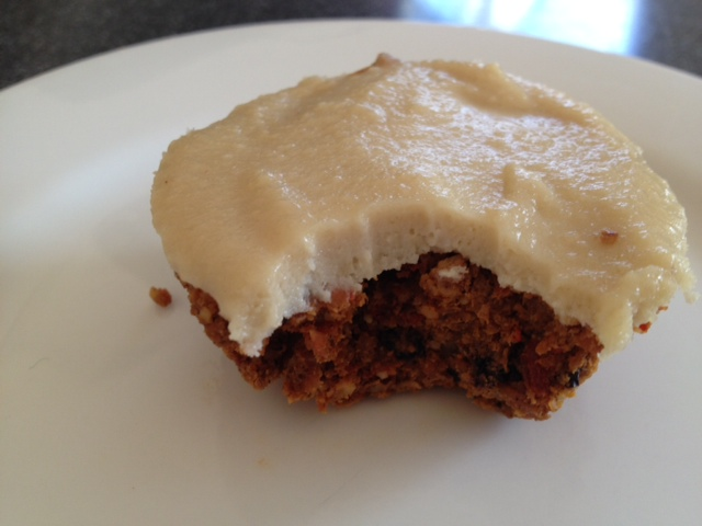 Yummy Raw Carrot Cakes