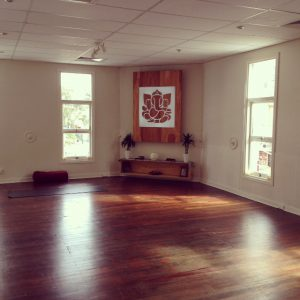 The beautiful space of Yoga Alchemy