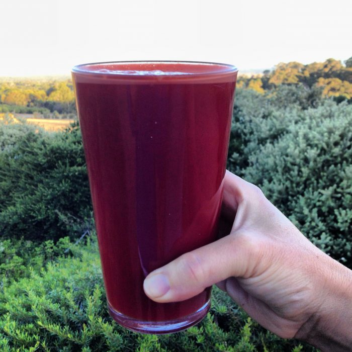 Cleansing juice fast