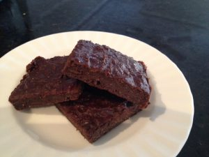 Delicious and healthy brownies