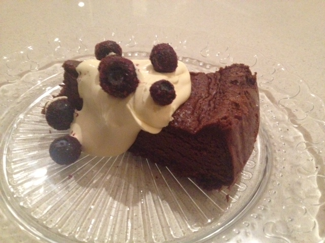 Flourless Salted Chocolate Cake