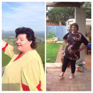 Amazing health and weight loss transformation
